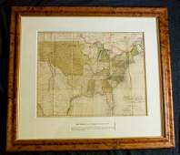 333 MAP MELISH United States of America 1821