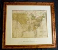 333: [MAP]. MELISH. United States of America.... 1821