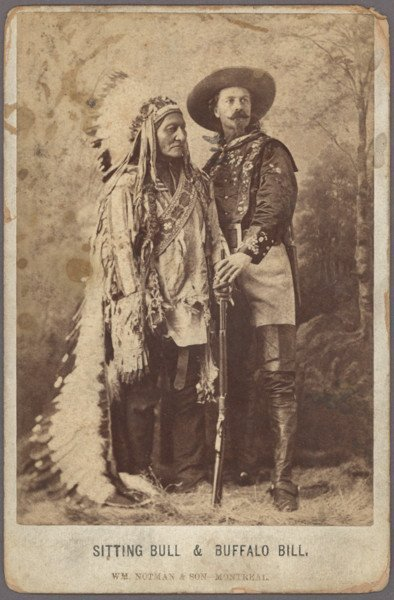454: [BUFFALO BILL'S WILD WEST SHOW]. 13 images