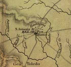 [MAP]. AUSTIN, Stephen F. Map of Texas.... 1836 - 4