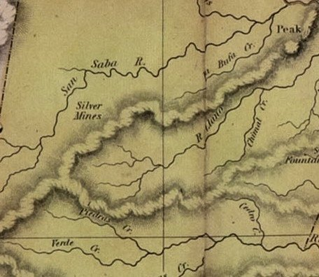 [MAP]. AUSTIN, Stephen F. Map of Texas.... 1836 - 8