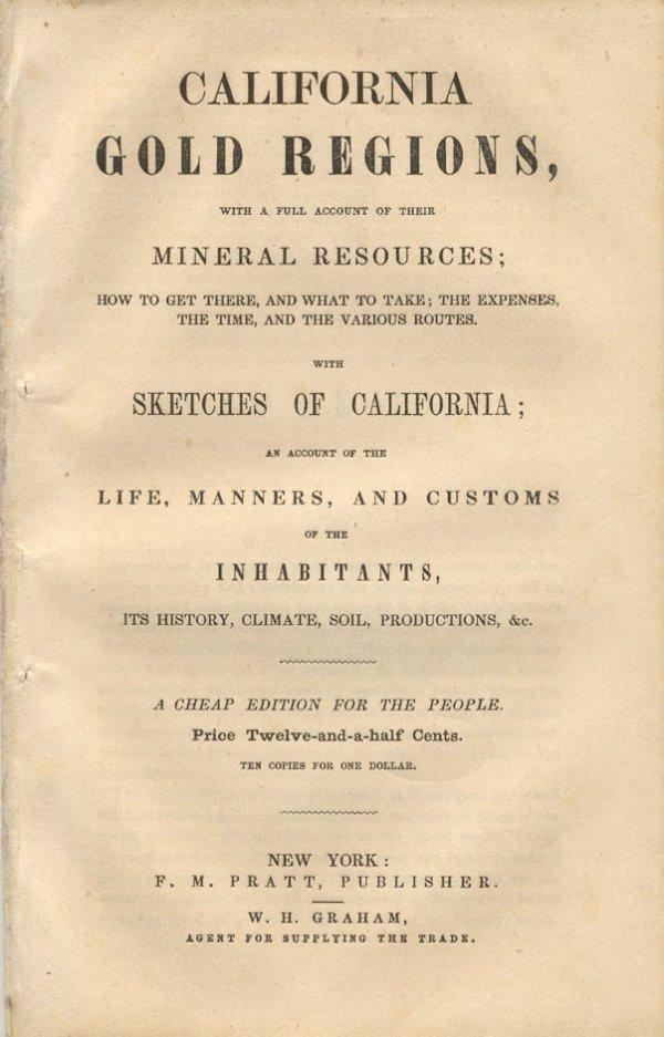 16024: California Gold Regions