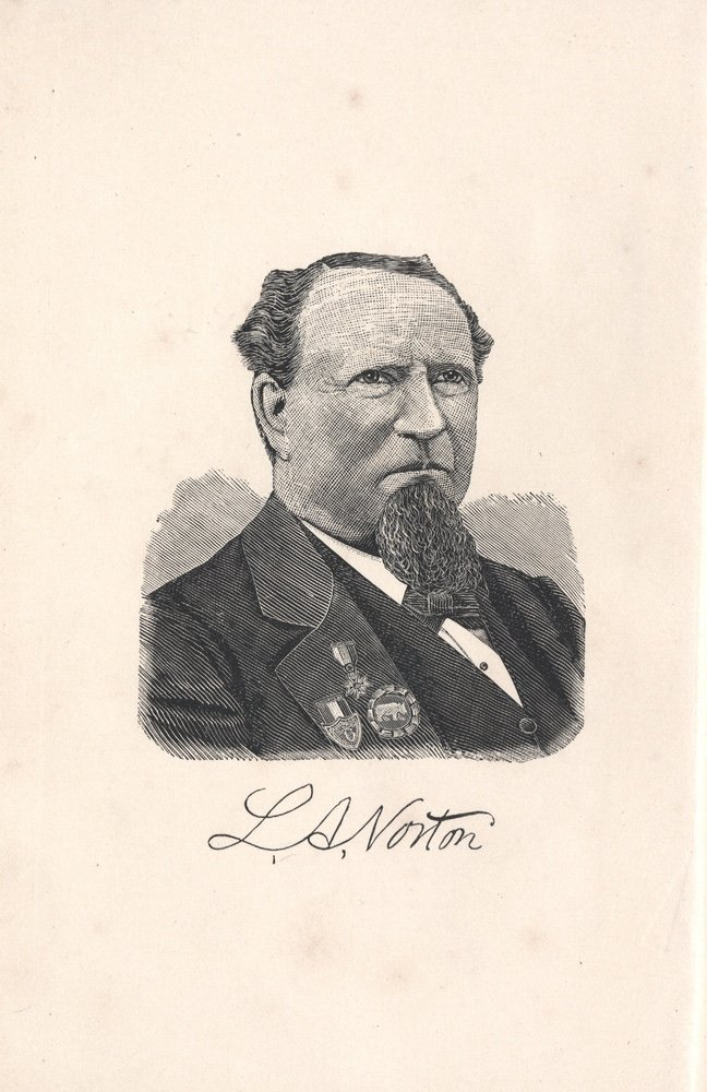[BIOGRAPHY]. NORTON. Life and Adventures.... 1887 - 2