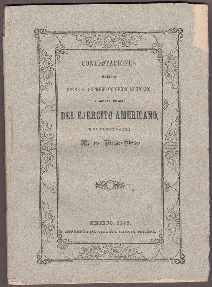 [BOUNDARY LINE]. Contestanciones habidas.... 1847