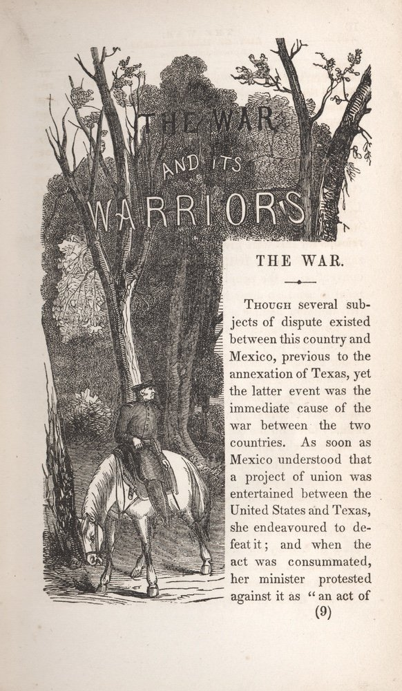 [HISTORIES]. FROST. War and its Warriors. 1848 - 3