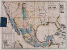 [MAP]. DISTURNELL. Mejico. 1846