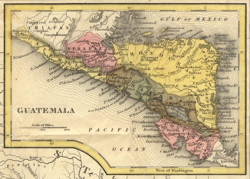 [MAP]. MITCHELL. Mexico & Guatemala. 1846 - 2
