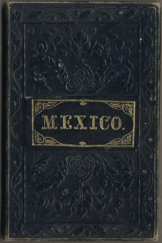 [MAP]. MITCHELL. Mexico & Guatemala. 1846 - 5