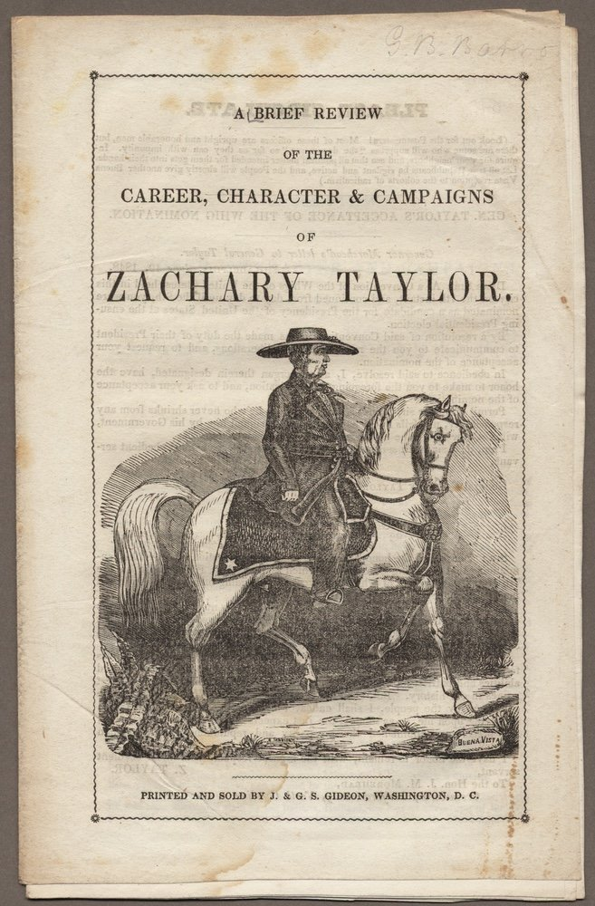 [TAYLOR, ZACHARY]. Group of 3 biographies