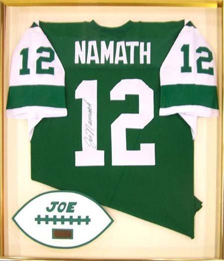 4: JOE NAMATH NY JETS JERSEY