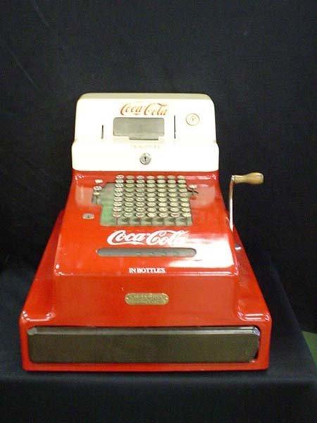 96: COCA COLA CASH REGISTER
