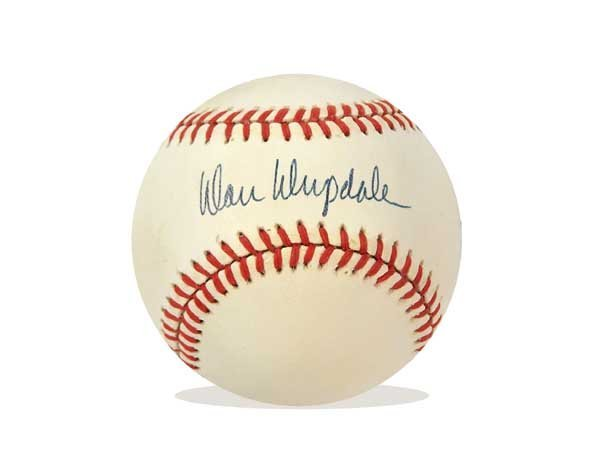 1006: DON DRYSDALE AUTOGRAPHED BASEBALL