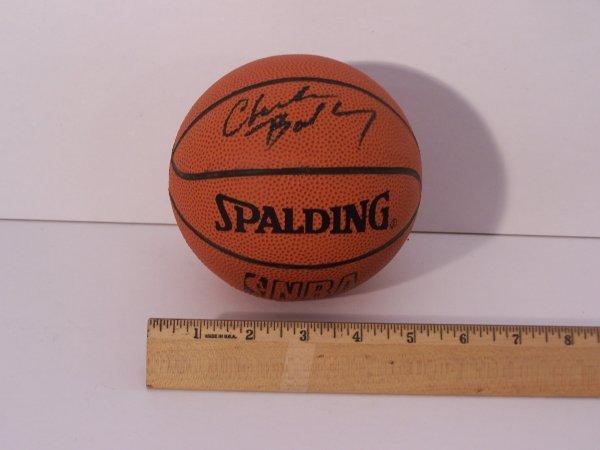 1009: CHARLES BARKLEY AUTOGRAPHED BASKETBALL