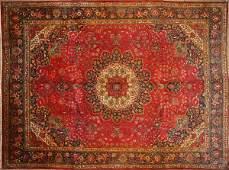 445: Persian rug, 10x13