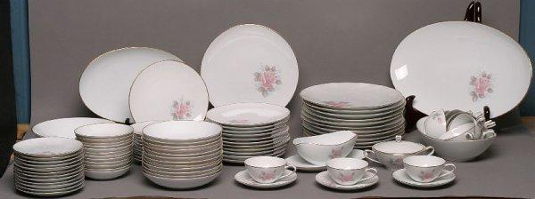 298: Noritake 90-piece Roseville china set