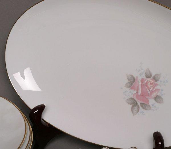 298: Noritake 90-piece Roseville china set - 3