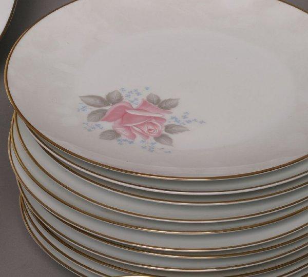 298: Noritake 90-piece Roseville china set - 4
