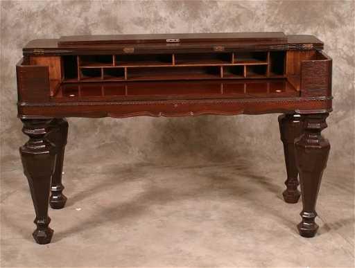 - 703: Rosewood Spinet Desk