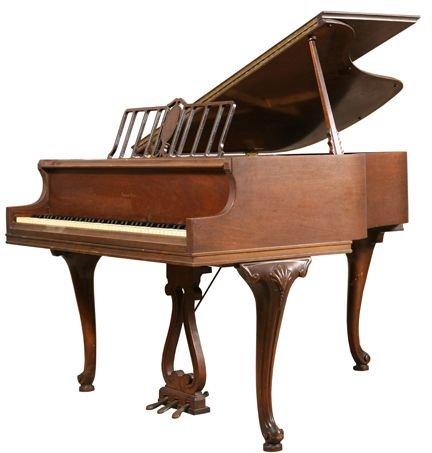 709: Haines Bros baby grand piano, 1933