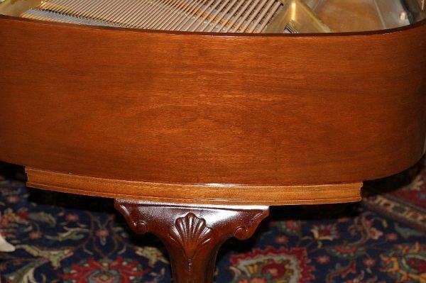 709: Haines Bros baby grand piano, 1933 - 2