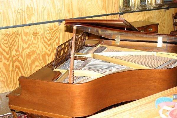 709: Haines Bros baby grand piano, 1933 - 8