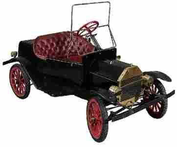 1: Gas Powered Diminutive Model A Shriner's Car