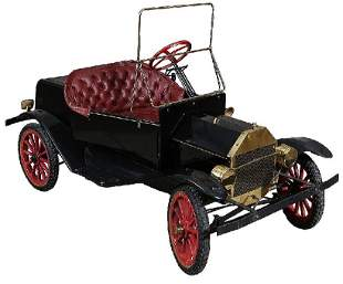 Gas Powered Diminutive Model A Shriner's Car
