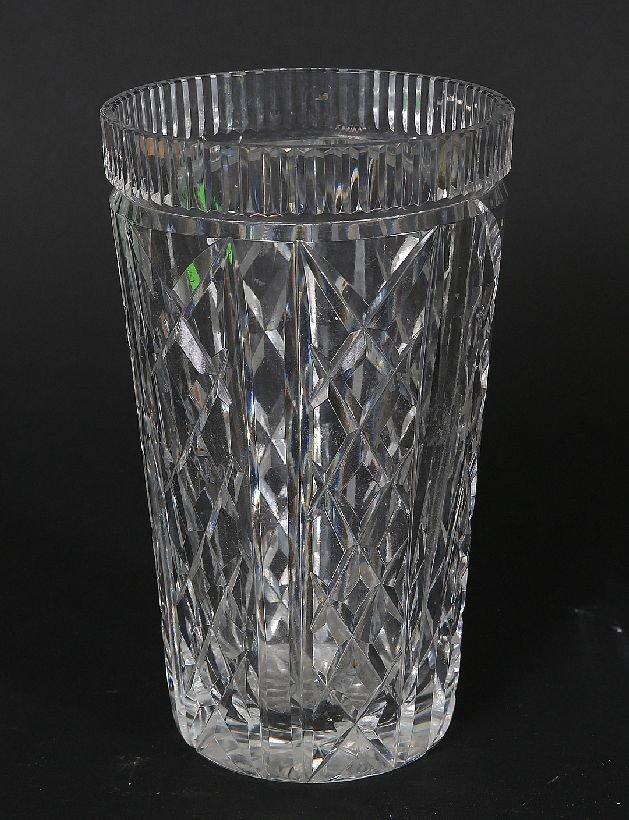 19: Waterford Crystal Vase