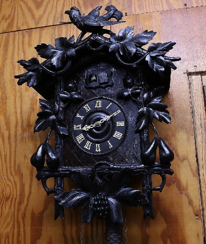140: Carved Cuckoo Clock