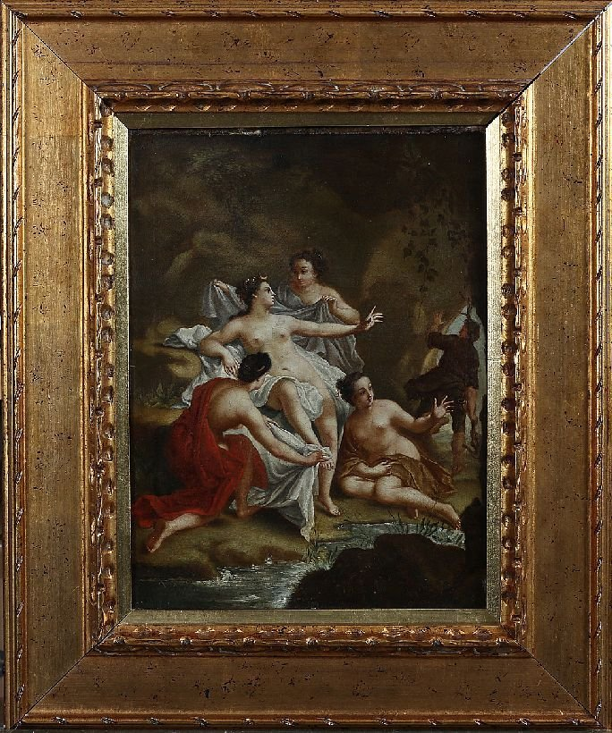 205: 19th Century Old Master Allegorical Painting