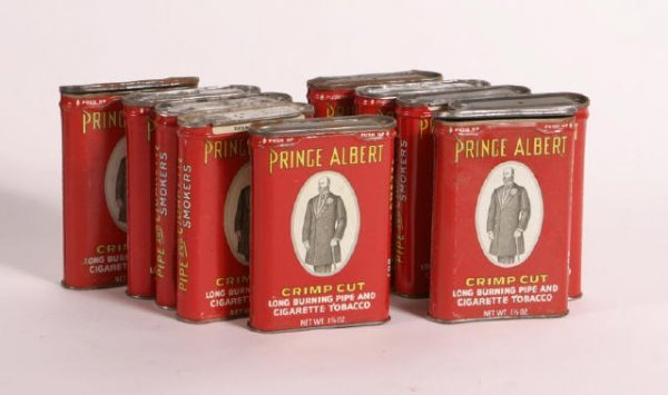 2: Lot Prince Albert Tins 10 ea
