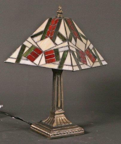 4: Stained Glass Lamp