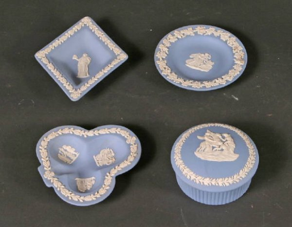 6: 4pc lot of Wedgwood