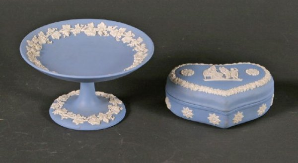 7: 2pc Lot of Wedgwood