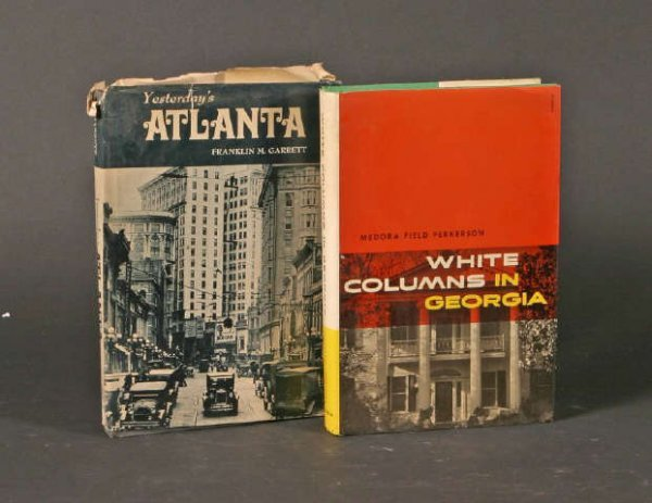 11: lot of 2 Georgia Books White Columns in Georgia &