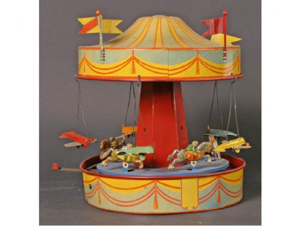 1074: Sunny Andy Antique Toy Merry-Go-Round