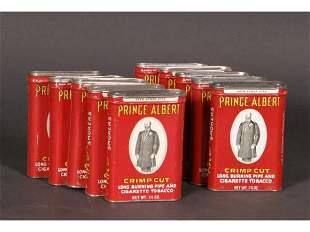 Lot 10 Prince Albert Tins