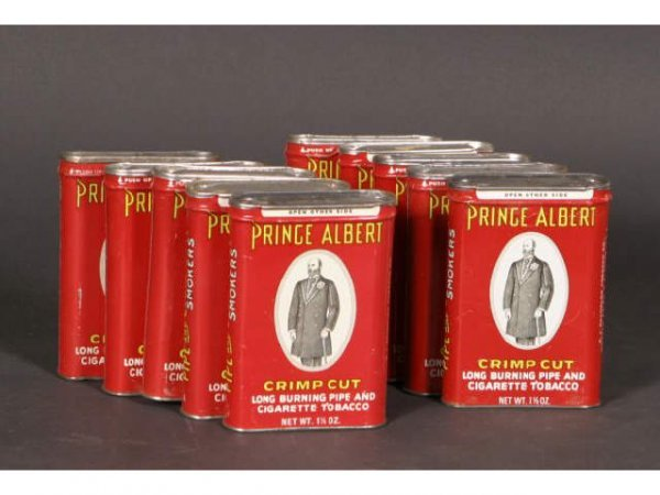 1001: Lot 10 Prince Albert Tins