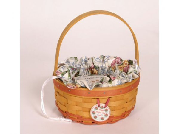 1004: Longaberger Basket Mothers Day 1998 9in Tall