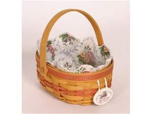 Longaberger Basket Mothers Day 1999 7 1/2iun Tall