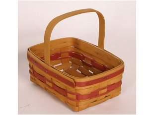 Longaberger Basket Dated on Botton 1994 no liner