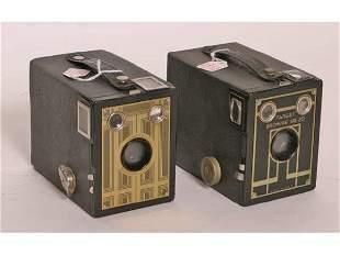 Lot 2 Brownie Six-20 Cameras