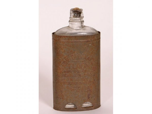 1014: Non Breakable flask dated 1907
