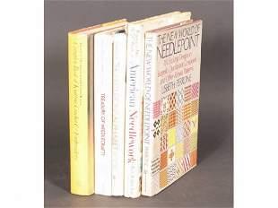 Lot 5 books on Needlework