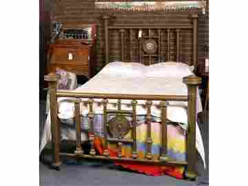 410: Brass Bed - full size