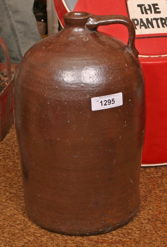 308: Earthenware Jug - 5 gallon, WTB Gordy - 2