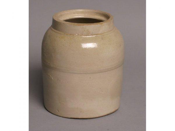 2: Stoneware crock; no markings, 6W x 9T