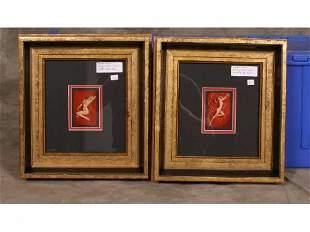2 - frames: Marilyn Monroe playboy cards