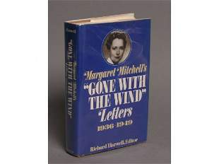 1st Edition Gone With The Wind Letters