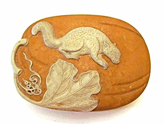 Yixing Inkstone with Covered Box